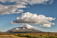 Yukon scenery with clouds. Stock Photos