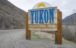 Yukon Sign #2 Stock Images