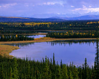 Yukon - St. Elias Mountains Stock Image