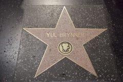 Yul Brynner Foto de Stock Royalty Free