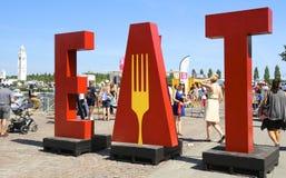 Yul Eat-Festival Lizenzfreie Stockfotografie