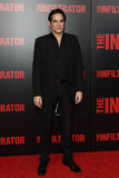 Yul Vazquez. NEW YORK-JULY 11: Actor Yul Vazquez attends `The Infiltrator` New York premiere at AMC Loews Lincoln Square 13 Theater on July 11, 2016 in New York Stock Photography