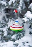 yule Decorações do Natal Fotos de Stock