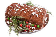 Yule Log Royalty Free Stock Photography