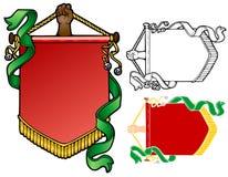 Yule sztandar ilustracji
