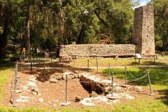 Yulee Sugar Mill Ruins Fotografía de archivo libre de regalías