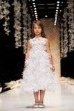 YULIA PROKHOROVA wybieg MOSKWA mody tydzień 25 Październik, 2015 Fotografia Royalty Free