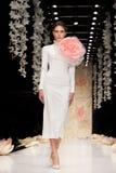 YULIA PROKHOROVA wybieg MOSKWA mody tydzień 25 Październik, 2015 Zdjęcia Royalty Free