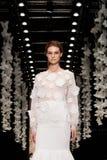 YULIA PROKHOROVA wybieg MOSKWA mody tydzień 25 Październik, 2015 Zdjęcie Stock
