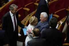 Yulia Tymoshenko nel Parlamento ucraino, il 27 novembre 2014, Kiev, Ucraina Immagini Stock Libere da Diritti