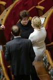 Yulia Tymoshenko nel Parlamento ucraino, il 27 novembre 2014, Kiev, Ucraina Fotografia Stock Libera da Diritti