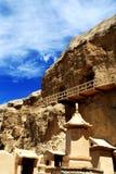 Yulin grottor Arkivfoton