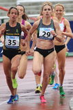 Yuliya Chizhenko - 1500 метров бега Стоковые Изображения