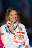 Yuliya Efimova ( Russia) Royalty Free Stock Image