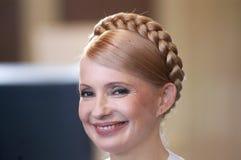 Yuliya Tymoshenko Imagens de Stock Royalty Free