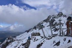 Yulong (chabeta smok) Snowmountain, Lijiang, Yunnan, Chiny Fotografia Stock
