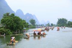 Yulong flod royaltyfri fotografi
