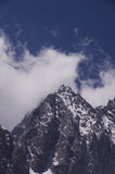 Yulong (Jade Dragon) Moutain, Lijiang, Yunnan, Chine Photos stock