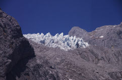 Yulong (Jade Dragon) Moutain, Lijiang, Yunnan, Chine Photo stock