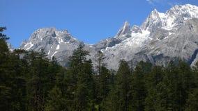 Yulong (jade dragon) snow mountain Royalty Free Stock Images