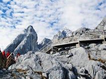 Yulong mountain Stock Images