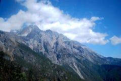 Yulong śniegu góra Zdjęcia Stock