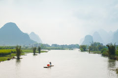 Yulong River in Guilin Royalty Free Stock Photography