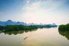 Yulong River in Guilin Stock Images