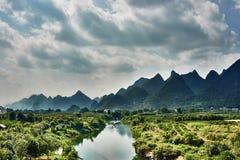 Yulong river Guilin Yangshuo Guangxi  China Stock Photos