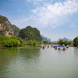 The yulong river rafting Royalty Free Stock Photos