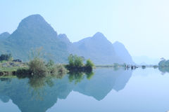 Yulong River Royalty Free Stock Photo