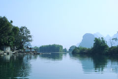Yulong River Royalty Free Stock Image