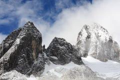 Yulong snow mountain. Shot in Yunnan, China Royalty Free Stock Image