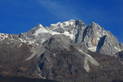 Yulong snow mountain Royalty Free Stock Image