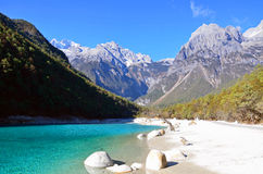 Yulong snow mountain scenic area Royalty Free Stock Photography