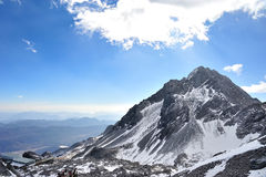 Yulong Snow Mountain Royalty Free Stock Photo