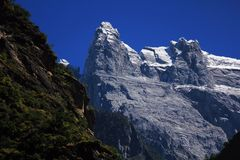 Yulong snow mountains Royalty Free Stock Images