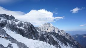 Yulong Snowmountain Royalty Free Stock Photography