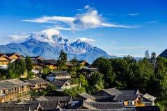 The Yulong snowmountain Stock Photos