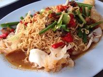 Yum comida tailandesa del mA mA Imagenes de archivo