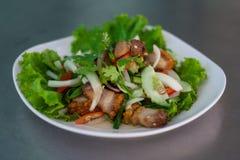Yum pork. Food thai menu yum pork Stock Photos