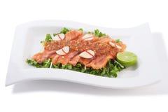 Yum salmon Royalty Free Stock Photos