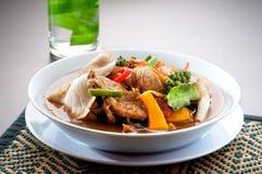 yum tom продуктов моря тайское Стоковое Фото