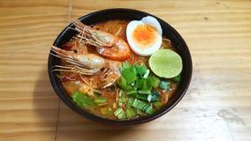 yum tom супа креветки goong пряное Стоковые Изображения