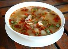 yum tom супа стоковое фото rf