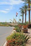 Yuma Arizona im Winter Lizenzfreie Stockfotos
