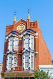 Κτήριο Yuma στο τέταρτο Gaslamp, στο κέντρο της πόλης Σαν Ντιέγκο, Καλιφόρνια στοκ φωτογραφία