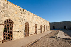 Yuma territorial prison cells Royalty Free Stock Image