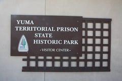 YUMA Territorial Prison State Historic-Park Lizenzfreies Stockbild