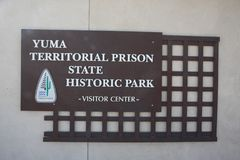 YUMA Territorial Prison State Historic Park Royalty Free Stock Image